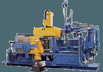 Maquinaria para la inyección de aluminio
