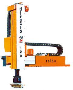Lubrificador para inyectoras de cámara fría hasta 1600 t con 2 ejes