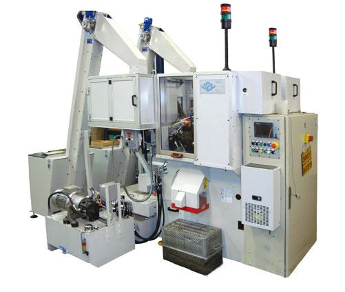 Maquinaria automática para el taladrado