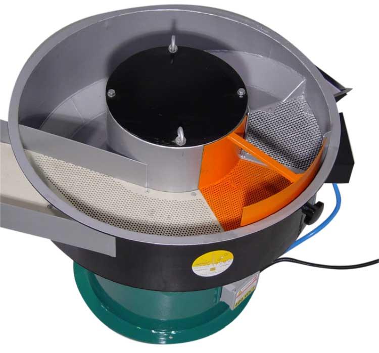 Máquina vibratoria circular semiautomática