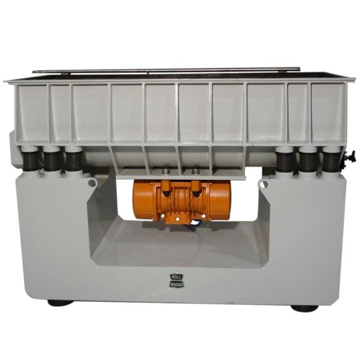 Máquina vibratoria rectangular para superficies de masas