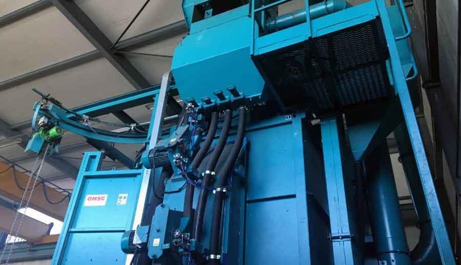 Granalladora de OMSG reconstruida a nueva